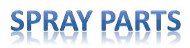 SpayParts, оборудование GRACO