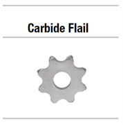 19A013 ФРЕЗА CARBIDE FLAIL