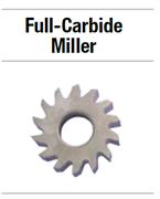 25N320 НАБОР FULL-CARBIDE MILLER 6  FINE